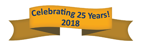 CELEBRATING 25 YEARS! March, 2018