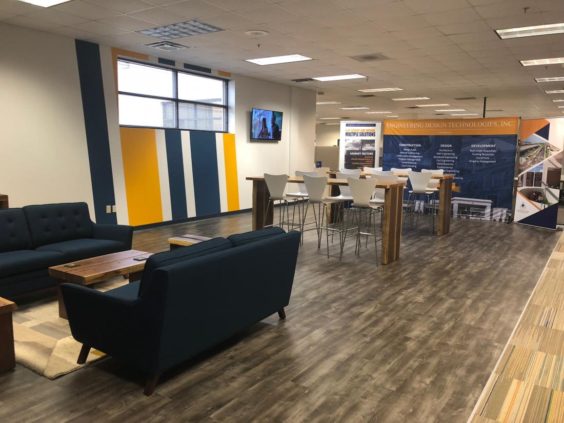EDT introduces Collaboration Space into Marietta Office